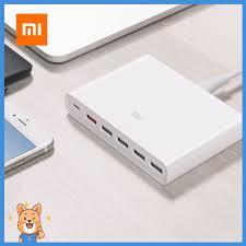 【Sevan】 <b>Xiaomi Mi</b> 60W QC3.0 Fast <b>Charger</b> 5 <b>USB</b>-A & 1 <b>USB</b> ...