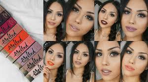 <b>Too Faced Melted Matte</b> Liquified Matte Long Wear Lipsticks | Try ...