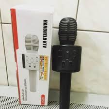 Беспроводной <b>караоке</b>-микрофон <b>Handheld KTV</b> Q858 синий