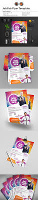 job fair flyer template v by aam graphicriver job fair flyer template v2 events flyers