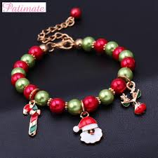 <b>PATIMATE</b> Women <b>Christmas</b> Santa Claus Bracelet Pendant ...