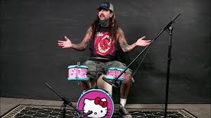 Mike Portnoy: 'Name That Tune' on Hello Kitty <b>Drum Kit</b> - YouTube