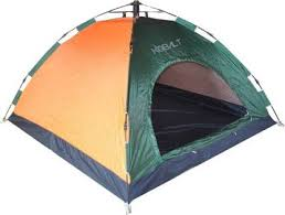 KOBALT <b>Automatic</b> instant Setup <b>Dome Tent</b> - For 4 Persons - Buy ...