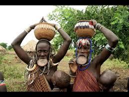 Африканское племя Мурси в Эфиопии: Экзотические аборигены ...