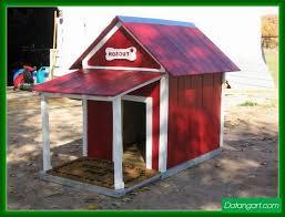 Dog House With Porch Plans Design Idea   Home LandscapingDog House With Porch Plans Design Idea