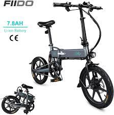 DAPHOME <b>FIIDO D2</b> E - 250W 7.8Ah Folding <b>Electric Bicycle</b> | Bike ...