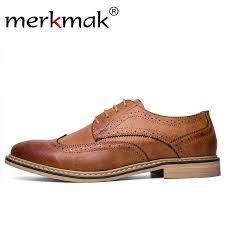 Merkmak <b>New</b> Arrival Luxury <b>Italian Men</b> Brogue <b>Dress</b> Shoes ...
