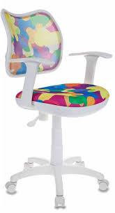 <b>Детское</b> компьютерное <b>кресло Бюрократ CH</b>-<b>W797 Abstract</b> ...