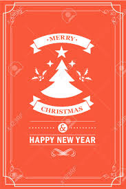 christmas party invitation retro typography and design decoration christmas party invitation retro typography and design decoration christmas holidays flyer or poster design