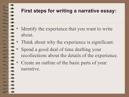 how to narrative essay a narrative essay