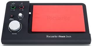 Купить <b>внешняя студийная звуковая</b> карта Focusrite iTrack Dock ...