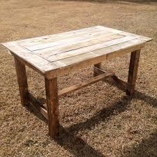 diy pallet table build pallet furniture plans