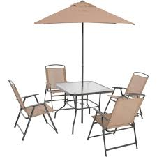 crossman piece outdoor bistro: mainstays albany lane  piece folding dining set multiple colors