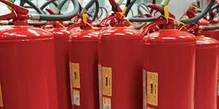 Como funciona el extintor de incendios