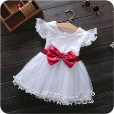 Verano Nuevos Niños Vestido de Color Sólido Rojo Niños Niñas ...
