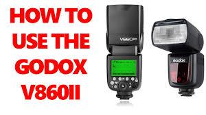 SPEEDLIGHT TUTORIAL - HOW TO USE THE GODOX V860II ...