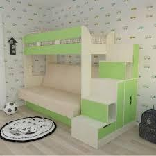 Двухъярусная <b>кровать</b> с диваном <b>Карамель 75</b>-01 - купить за 18 ...