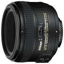 <b>Объектив Nikon</b> 50mm f/1.4G <b>AF</b>-<b>S Nikkor</b> — купить по выгодной ...