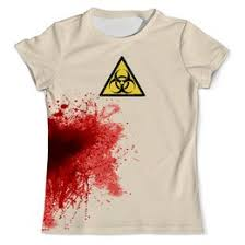 """Мужская одежда c эксклюзивными принтами """"кровь"""" - <b>Printio</b>"""