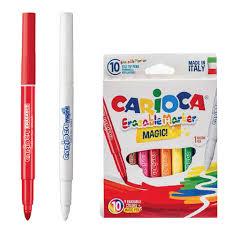 "<b>Фломастеры CARIOCA</b> ""<b>Erasable</b>"", <b>10</b> штук, 9 цветов + 1 ..."