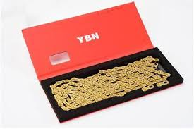 <b>YBN</b> 11 Speed <b>Gold</b> Semi hollow 11s <b>MTB</b> Bike Road Bicycle Chain ...