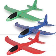 Foam Plane Toy <b>Hand</b> Throw Flying Glider Planes Toys Kids <b>Big</b> ...