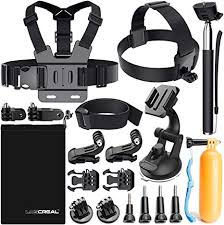 LUSCREAL <b>Accessories</b> for <b>GoPro</b>, Lusreal <b>Action Camera</b> ...
