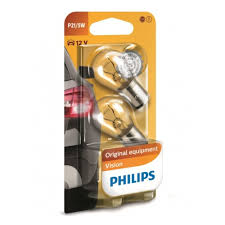 <b>Лампа накаливания PHILIPS</b> P21/5W Vision 12V 21/5W, 2 шт ...