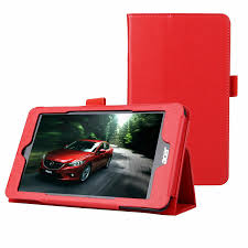 Slim <b>PU Leather</b> Protective <b>Tablet Cover</b> for Acer Iconia One 7 B1 ...