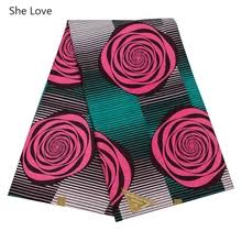 2019 latest african ankara print fabric 100 high quality batik cotton real wax wholesale for clothing curtains a18f0482