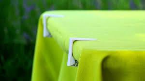 Plastic and <b>multipurpose</b> tablecloth clip PRESTO, <b>4 pcs</b>; Tablecloths ...