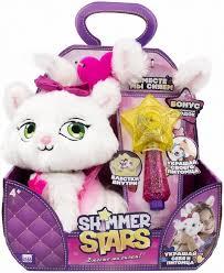 Плюшевый котенок, 20см Shimmer Stars S19303