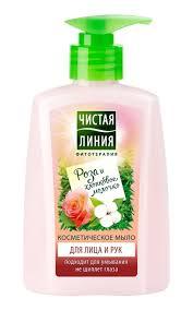 <b>Жидкое мыло</b> для лица и рук <b>ЧИСТАЯ ЛИНИЯ</b> | Watsons