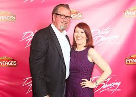 THE OFFICE's Kate Flannery with her husband Chris Haston Photo ...