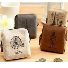 Women's Canvas <b>Coin</b> Purse Zip Wallet <b>Small Mini</b> Bag Case Pouch ...