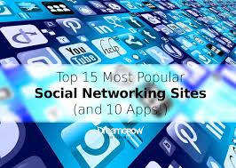 Top 15 Most Popular Social Networking Sites and Apps [July 2017 ...