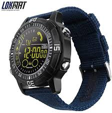 lokmat Smart <b>Watch Men Outdoor Sport Watches</b> Pedometer ...