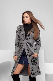 Кардиган -26529-4 Pretty Woman 44 серый -1029621 ... - Rozetka.ua