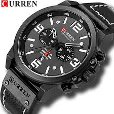 <b>Curren CURREN</b> Watch Men Fashion Casual Quartz Watches ...