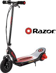 Razor Power Core E100 <b>Electric Scooter</b> - <b>Aluminum</b> Deck - Red ...
