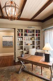 hooker desk home office traditional with atkins beam beaufort bluffton books bookshelf bright brown built in animal hide rugs home office traditional