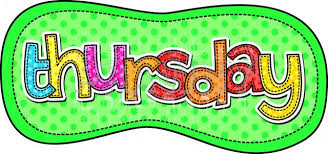 Image result for days of the week free clip art