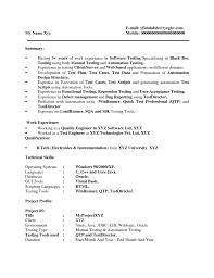 application tester resume   sales   tester   lewesmrsample resume  manual tester resume with mobile application
