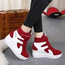 2020 的 <b>High top shoes emery</b> leather shoes color women's shoes ...