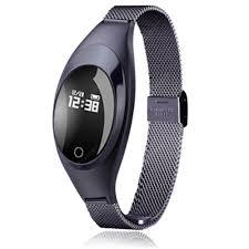 V6 <b>Z18</b> Fashion Blood Pressure <b>Heart Rate Monitor</b> Step Message ...