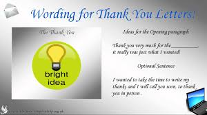 how to write thank you letters how to write thank you letters