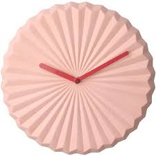<b>Coral Pink</b> Sunburst Wall Clock – Staunton and Henry
