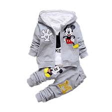 <b>New Children</b> Girls Boys Fashion Clothing Sets <b>Autumn Winter</b> 3 ...