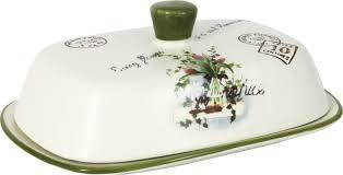 <b>Масленка</b> Anna Lafarg LF Ceramics <b>Букет</b>, AL-190F6298-B-LF, <b>19 см</b>