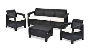 <b>Комплект плетеной мебели Keter</b> CORFU TRIPLE SET 17197786 ...